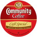 COMMUNITY COFFEE CAFE SPECIAL 72 PORTION PACKS