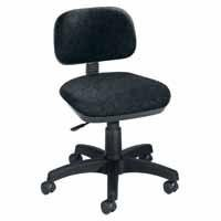 Sirius Gas Lift Typist Chair Charcoal