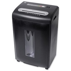 Brand New. 5 Star CC24 Shredder 4x40mm Cross Cut 32.7 Litre 24x80gsm 18.74kg W420xD305xH650mm