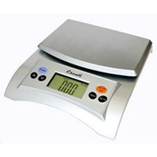 Escali Aqua (A115S) Liquid Measuring Digital Food Scale-Silver-A115 by Escali