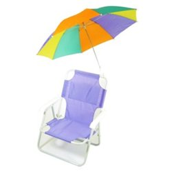 Pre-Teen Beach Chair & Multi Umbrella from Ababy