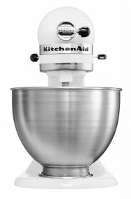 kitchenaid k45ss classic stand mixer white kitchen