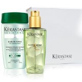 Kerastase Resistance Bain de Force + Elixir Ultime for dry hair in an exquisit giftbox with free samples (Set #011)
