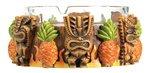 Angry Tiki Hawaii Votive/Candle Holder Collectible