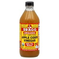 Bragg Apple Cider Vinegar, Raw, Unfiltered, Organic, 16 fl oz, (pack of 3)