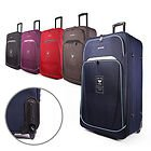 "Easyjet & RYANAIR 18"" & 21"" Cabin hand Luggage Trolley Case Suitcase Wheeled Luggage"