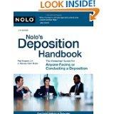 Nolo's Deposition Handbook by Paul Bergman (PAPERBACK)
