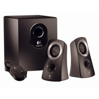 Logitech Speaker System Z313 Pc Multimedia Subwoofer Wired Dvd Audio Headphone Stereo 25 Watt