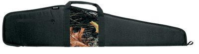 Scoped Rifle Cases Black with Mossy Oak Camouflage Panel 44