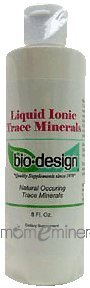 Liquid Ionic Trace Minerals 8 oz by Biodesign