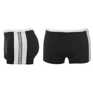 Calvin Klein Tape Swimming Shorts Mens Spring 2000 Small