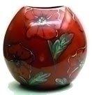 Poole Pottery Poppy Field Purse Vase 26cm
