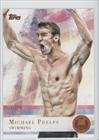 Michael Phelps (Trading Card) 2012 Topps U.S. Olympic Team and Olympic Hopefuls Bronze #100