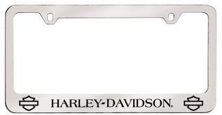 License Plate Frame - Harley Davidson Plain Bar Shield Logo - Bottom