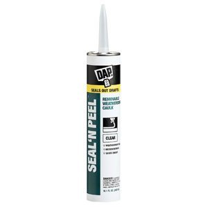 Dap 18324 Seal 'N Peel Removable Caulk, 10.1-Ounce