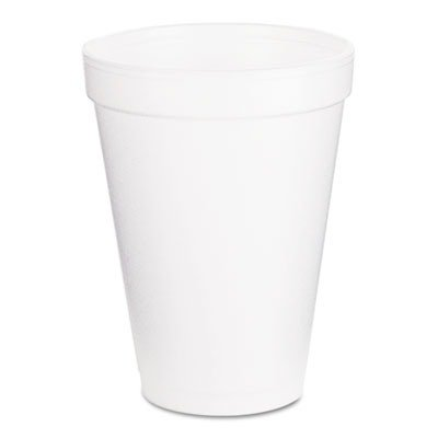 Disposable Cold/Hot Cup, White, Dart, 12J16 266932684