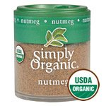 Simply Organic Mini Nutmeg Org, 0.53 Oz by Simply Organic