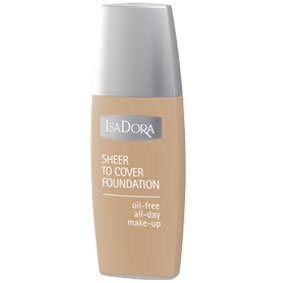 Isadora Sheer To Cover Foundation 50 Soft Sand
