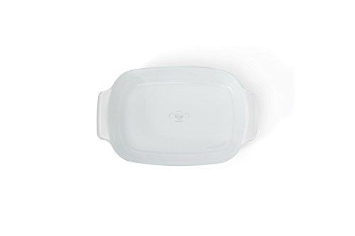 Creo SmartGlass Baking Dish, 1-Quart, Brooklyn Grey