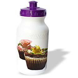 Sandy Mertens Food Designs - Chocolate Cupcakes - Water Bottles