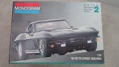 1/24 Scale '65 'Vette Street Machine Model Kit - 1