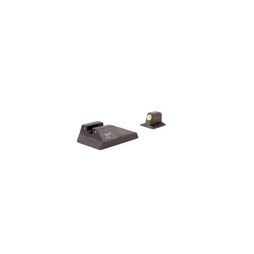 Trijicon Ruger Sr9/40/40C Yellow Front Outline Hd Night Sight Set