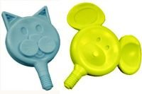 Z-Vibe Cat-N-Mouse Tip Set (Yellow and Blue)