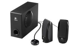 Logitech S220 2.1 PC-Lautsprecher schwarz