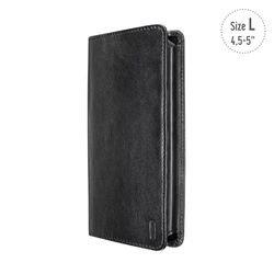 5514-1312 Universal Wallet Case für Smartphone bis 15 2 cm  6 Zoll  schwarz