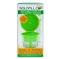 Solo-fill Reusable & Refillable K-cup® for Keurig® Brewers
