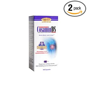CosaminDS-Nutramax Joint Health Supplement, 108 Capsules (2 Pack)