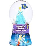 Disney Princess Cinderella Bubble Bath Glitter Globe (8 inches) Featuring Cinderella