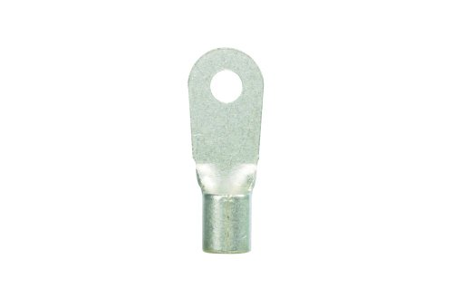 "Panduit P8-8Rht6-Q Ring Terminal, Non-Insulated, High Temperature, Large Wire, 8 Awg Wire Range, #8 Stud Size, 0.04"" Stock Thickness, 0.42"" Terminal Width, 1.12"" Terminal Length, 0.17"" Center Hole Diameter (Pack Of 25)"