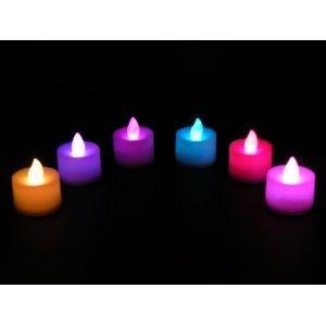 12er Set Farbenwechselnde LED Kerzen