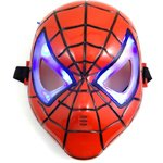 10 pcs of Cool Luminous Spiderman Mask for Halloween Costume Party (MOQ 10pcs) from RTIBTIQERG