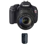 Canon EOS Rebel T3i DSLR Camera with EF-S EF-S 18-135mm f/3.5-5.6 IS Lens - Bundle - with EF-S 55-250mm f/4-5.6 IS STM Lens