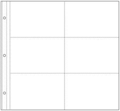 Making Memories 3-Ring 6-Pocket Refill Pages 12-Inch by 12-Inch, 10/Pkg