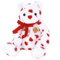 Ty Beanie Babies Heartthrob - Bear (BBOM February 2004) - 1