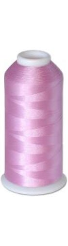 12-cone Commercial Polyester Embroidery Thread Kit - Pink Plum Light P565 - 5500 yards - 40wt