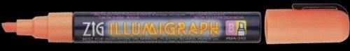 ZIG illumigraph marqueurs craie 5 marqueur 5 mm (jaune)