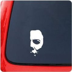 michael-myers-creepy-half-face-6-white-vinyl-car-wall-decal-scary-horror-movies-awesome-fun-cool-cre