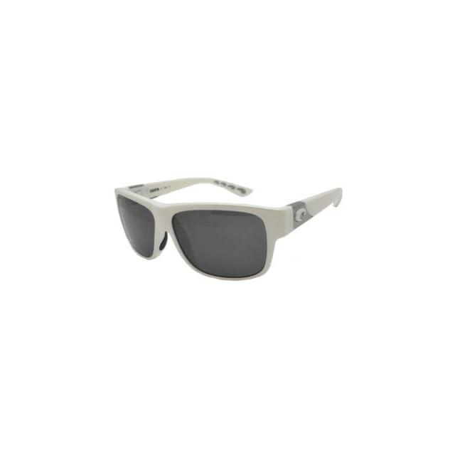 62f5fab5c554e Costa Caye Polarized Sunglasses 580 Polycarbonate Lens White Dark Gray