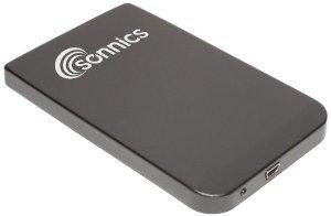 """Sonnics - 500 Go - Noir Disque dur externe portable USB 2.0 pour smart TV, pc, mac, PS3 - Extra fin 2,5"""""""