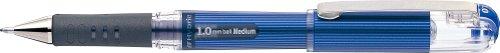 Pentel - Bolígrafo, punta de 1 mm, tinta de gel con base de pigmento, color azul
