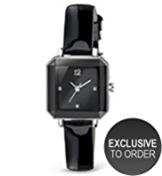 M&S Collection Faceted Square Face Diamanté Analogue Watch