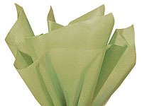 "Bulk Sage Green Tissue Paper 15"" X 20"" - 50 Sheets back-592886"