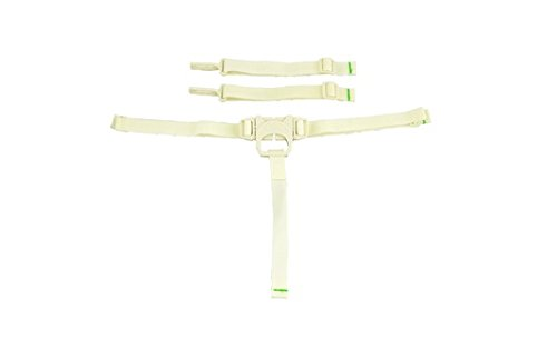 Fisher Price Space Saver High Chair Replacement Pad (SPACE SAVER STRAPS-CREME BJX68)