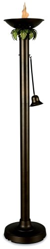 Vesta 578 Bronze Patio Citronella Lamp, 72-Inches Tall