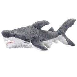 Jumbo Great White Stuffed Shark Giant Huge Large Shark Plush By Wild Life Artist (Giant Plush Shark compare prices)