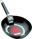 Joyce Chen 22-0020, Pro Chef 9.5 Inch Peking Pan with Excalibur Non-stick coating